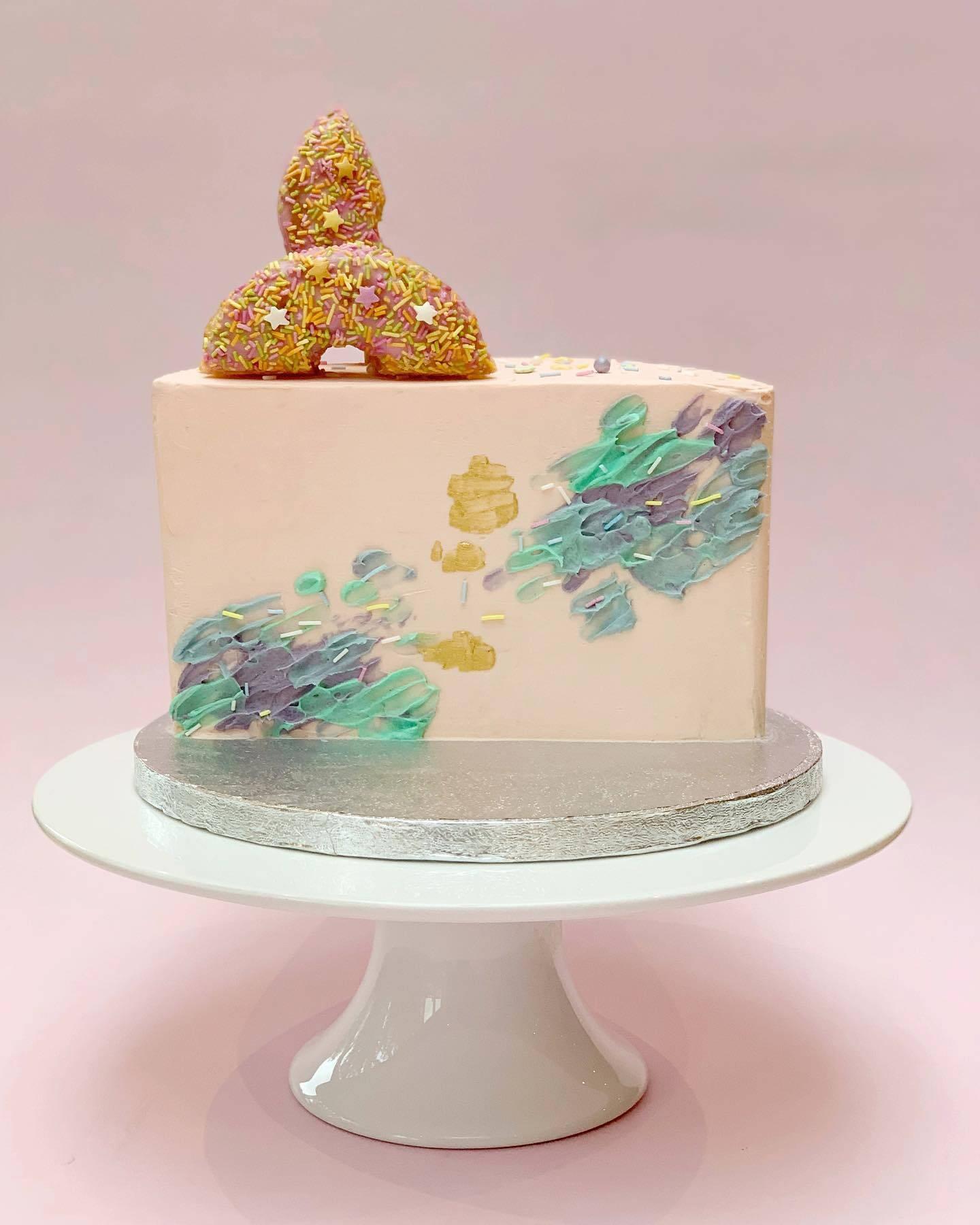 Half Year Celebration – Half a Cake