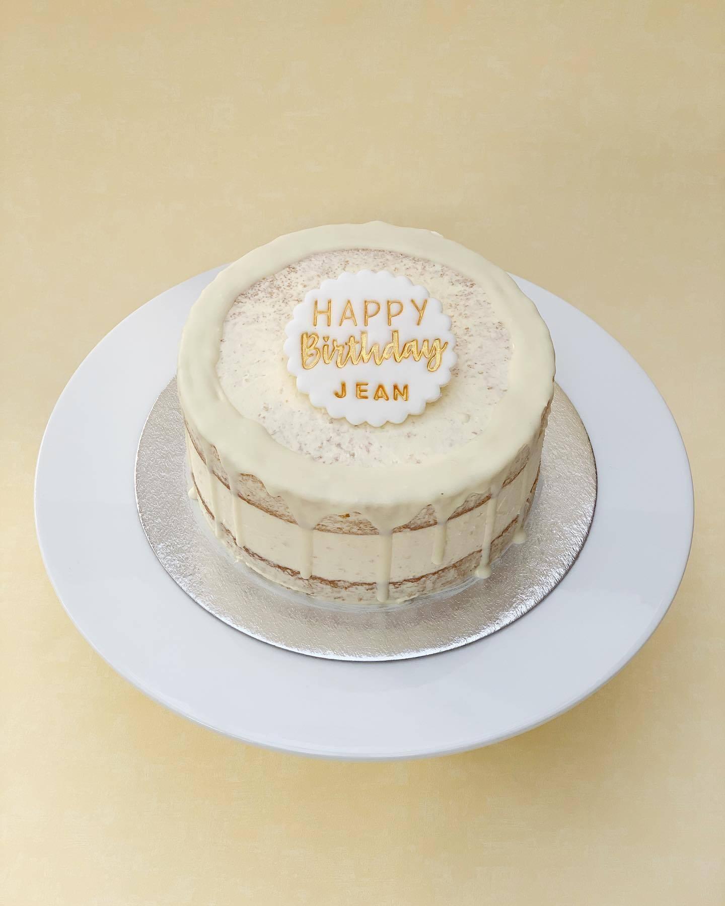 Lemon Cake with White Chocolate