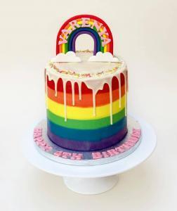 Rainbow Cake Design